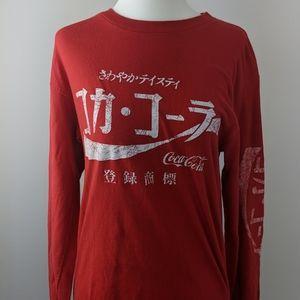 Coke Long Sleeve 💕2/$30💕 | small men's
